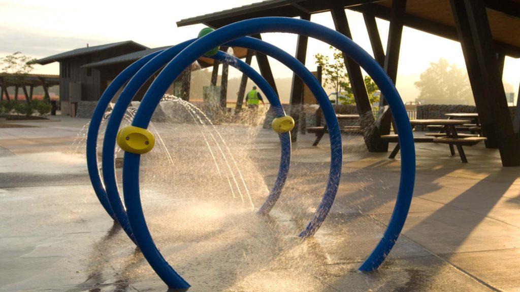 A sprayground