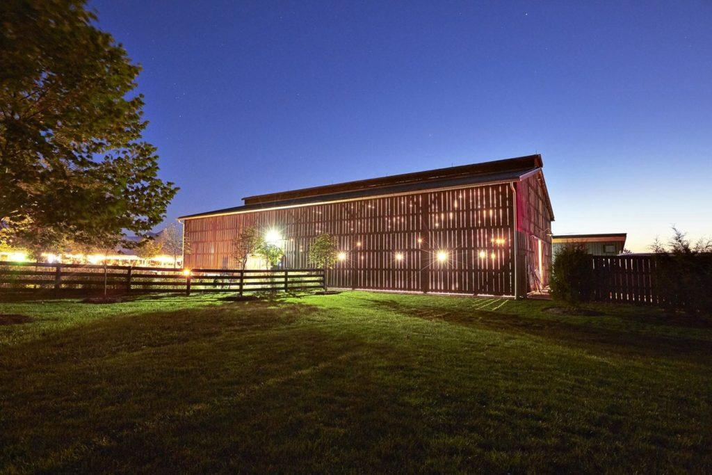 A barn venue