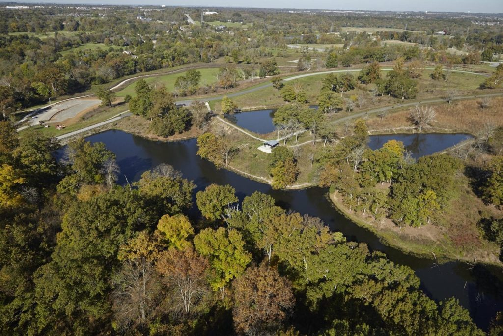 Aerial view of The Parklands
