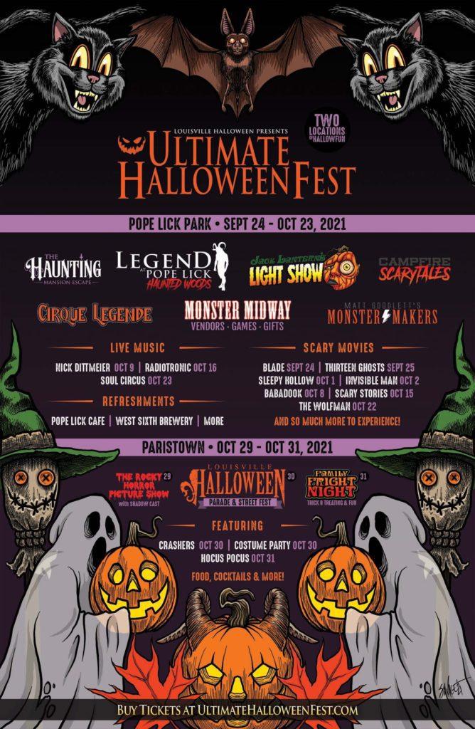 Ultimate Halloween Fest flyer