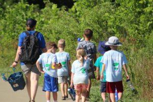 Summer Camp Hike